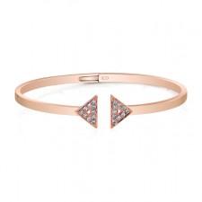 ROSE GOLD CONTEMPORARY DIAMOND BANGLE