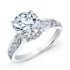 WHITE GOLD CLASSIC DIAMOND BRIDAL RING